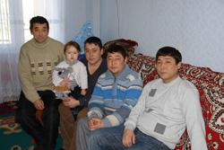 Мужская работа семьи Кузембаевых