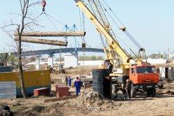 В Жилгородке строится мост-невидимка