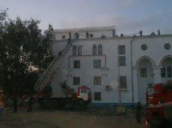 Пожар в ДК Жилогородка