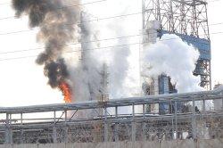 На нефтеперерабатывающем опять горело (обновлено)