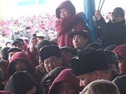 Бастующих нефтяников поддержали жители Жанаозена